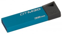 Накопитель Flash USB3.0 drive KINGSTON Data Traveler mini 3.0 32Gb RET Black [DTM30/32GB]