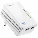TP-Link Адаптер Powerline Ethernet + WiFi 300Мбит/с TL-WPA4220KIT, 500 Мбит/с, Fast Ethernet, 2 шт в комплекте