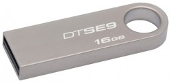 Накопитель Flash USB drive KINGSTON Data Traveler 16Gb RET silver [DTSE9H/16GB]