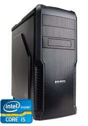 Игровой компьютер M-16 Intel i5-7500 3.4 GHz - 4 ядра / 8GB DDR4 / 1000Gb HDD / 60GB SSD / GeForce GTX 1050Ti 4GB / DVD-RW / H110M / 600W / Win 10 Pro