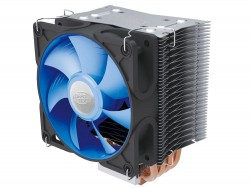 Кулер DEEPCOOL ICE EDGE 400 FS(E) S1366/S1150/S1155/S1156/S775/AM2/AM2+/AM3/FM1 (24шт/кор, TDP 136W, Fan, 4 Heat-Pipe, медн. осн-е) RET