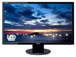 "Мониторы / 23.6"" / Asus / VE247T LED / 16:9 / 2ms / VGA + DVI / LED / 1000:1 / Multimedia / 1920x1080 / 300 кд/м2 / Черный"