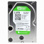 Жесткий диск 2Tb WD20EZRX (SATA 6Gb/s, IntelliPower, 64Mb) Caviar Green