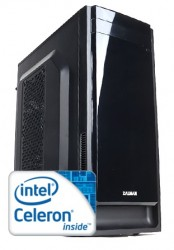 Компьютер для офиса Cимпл Intel Celeron J1800 / 2GB DDR3 / 500GB HDD / 300W / J1800N / Win 10 Pro