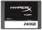 "Накопитель SSD Kingston 2,5"" SATA-III HyperX FURY 240GB SHFS37A/240G"