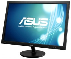 "Мониторы / 24"" / Asus / VS24AH LED (IPS) / 16:10 / 5ms / VGA + DVI + HDMI / LED / 1000:1 / 1920x1200 / 300 кд/м2 / Черный"