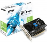 Видеокарта MSI GeForce GT740 / 2GB DDR3 128BIT 1782MHz / 1006MHz / N740-2GD3 / RTL