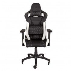 Игровое кресло Corsair Gaming T1 RACE Black/White  -