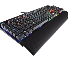 Игровая клавиатура Corsair K70 LUX RGB, Cherry MX RGB Red -