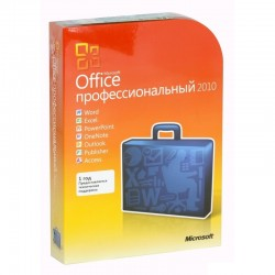 Microsoft Office 2010 Professional (x32/x64) BOX [269-15654] Word, Excel, PowerPoint, OneNote, Outlook, Publisher, Access