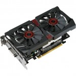 Видеокарта ASUS GeForce GTX750Ti STRIX / 2GB GDDR5 128BIT / STRIX-GTX750TI-OC-2GD5 / RTL