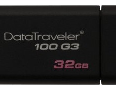 Накопитель Flash USB3.0 drive KINGSTON Data Traveler 100 G3 32Gb RET Black [DT100G3/32GB] USB 3.0 [ID:166772] - 4fr.jpg