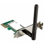 Адаптер D-Link DWA-525/B1A Беспроводной PCI Express адаптер Wireless 150, до 150Мбит/с