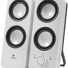 Колонки Logitech Z-200 Speakers snow white -