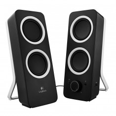 Колонки Logitech Z-200 Speakers midnight black -