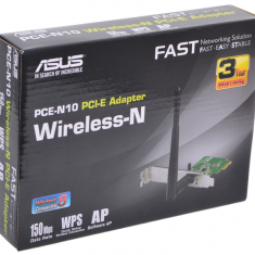ASUS PCE-N10, WiFi Adapter PCI-E -