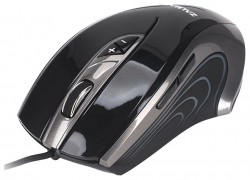мышь оптическая Zalman ZM-GM1 USB 6000dpi, Gaming mouse, 7x fully progr buttons, Laser, black color