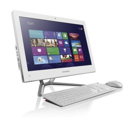 "Моноблок Lenovo IdeaCentre C540 White 23"" FHD/multi-touch/ i3-3240 (3.4)/4GB/500GB/GF 615M 2GB/DVDRW/WiFi/Cam/Windows 8/USB kbd & mouse (57316040)"