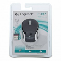 Мышь Logitech Mini M187 USB (910-002736), чёрный -