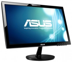 "Мониторы / 19.5"" / Asus / VK207S LED / 16:9 / 5ms / VGA / LED / 1000:1 / Multimedia / 1600x900 / 250кд/м2 / USB Port / Webcam 1.0M Pixel / Черный"