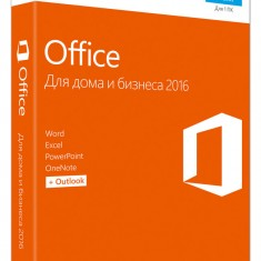 Microsoft Office 2016 Home and Business (x32/x64) BOX [T5D-02292] -